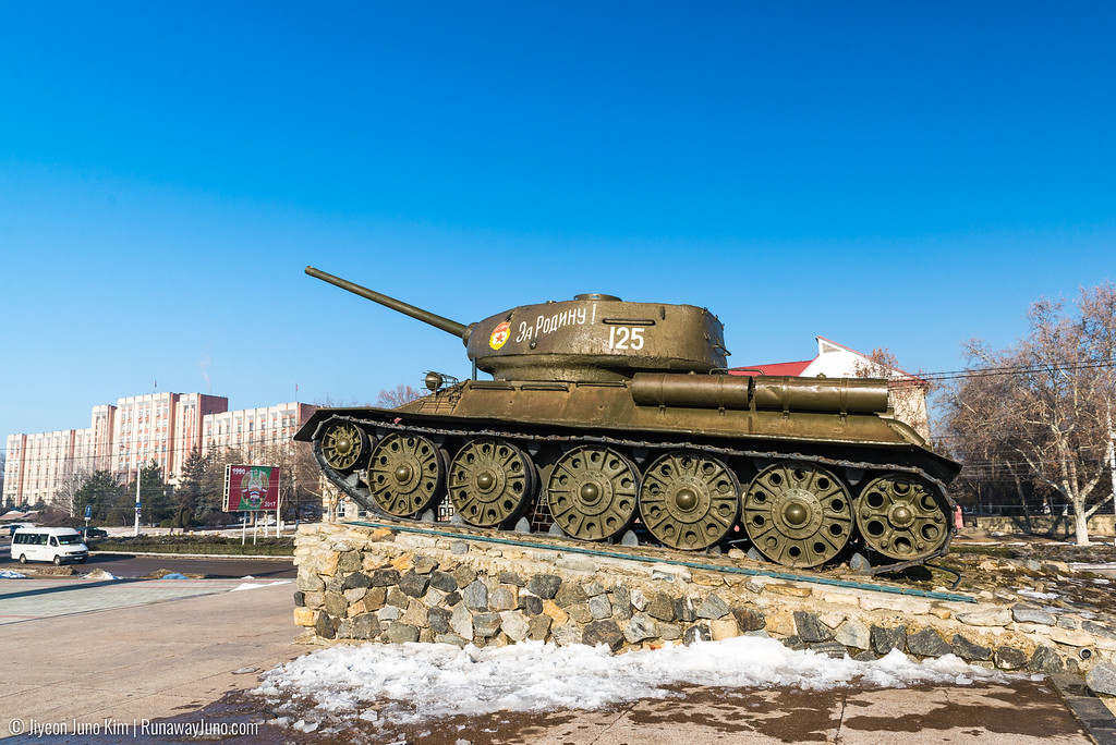 Russian tank that was used in the War of Transnistria