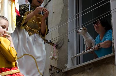 """La """"sagra dei Misteri"""" è una delle più importanti e suggestive manifestazioni della cultura popolare religiosa molisana. Questa tradizione si svolge il giorno di  Corpus Domini"""