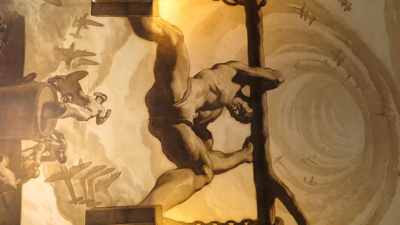 Rockeller center lobby art.