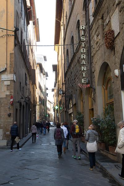 Every street lookied like a movie set