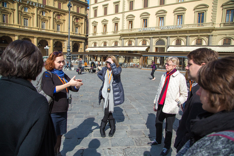 Our tour guide, Tatyana