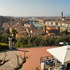 View from the loggia of Piazzale Michelangelo