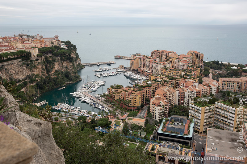 Rocher de Monaco and Port de Fontvieille