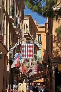 Old town of Monaco