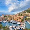 <b>Port of Fontvieille @ Monaco #2 (French Riviera)</b> <i>Sony DSLR-A100 + Sigma 10-20 mm</i>