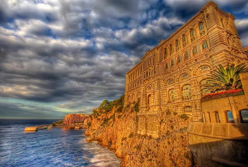 Oceanographic Museum of Monaco (back)