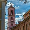 Palais Rusca Clock Tower