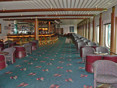 One of my favorite places on the ship, The Schooner Bar.