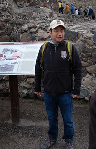 Our guide Andres gives a historical view of restoration among other details.