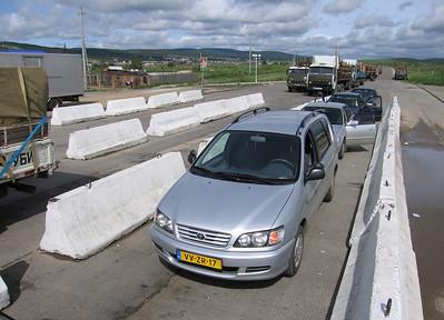 Grensovergang naar Mongolië
