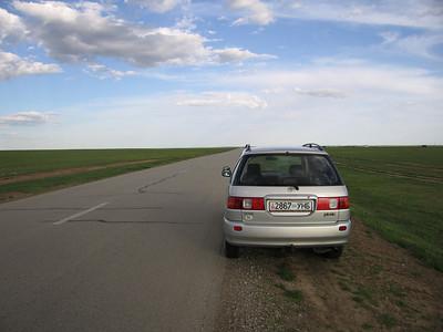 Auto na invoer met mongools kenteken