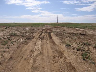 Auto uitgegraven