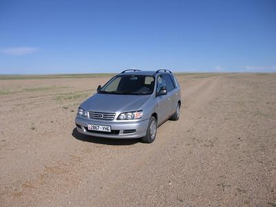 Rijden door de Gobi Woestijn