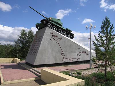 T34 Moskou Berlijn monument
