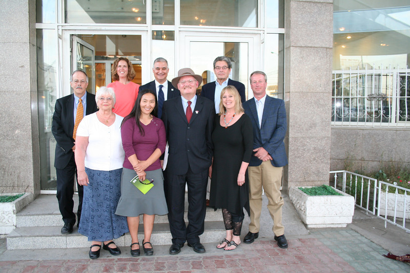 Bellingham Sister Cities Delegation (the guy in the hat is the U.S. Ambassador to Mongolia).  Don't we look fabulous?