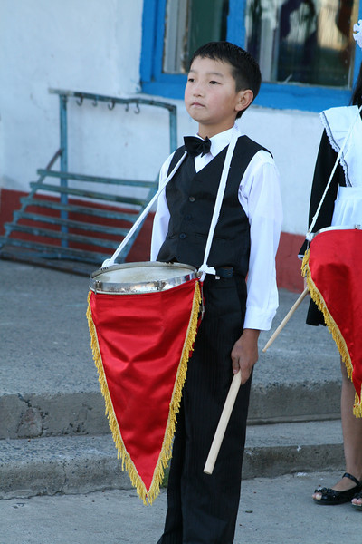 loved the drum corps, and loved this little guy!