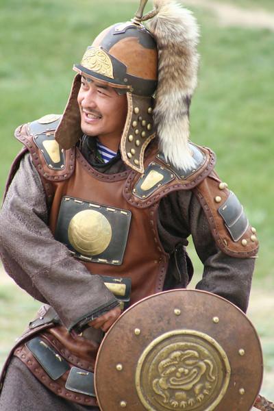 Dress as Chinggis!
