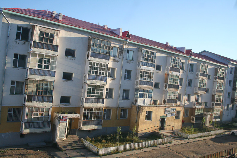 Lots of the apartments had an old, Soviet feel to them--probably because the Soviets occupied Mongolia until 1990.