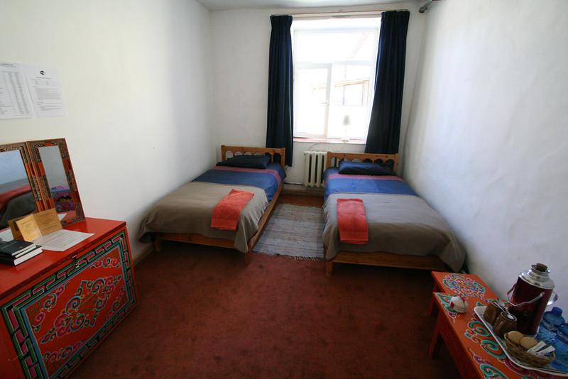 My room for the 10 days I spent in Tsetserleg.