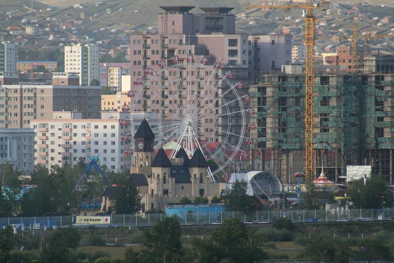 Ulaanbaatar, the capital city of Mongolia.