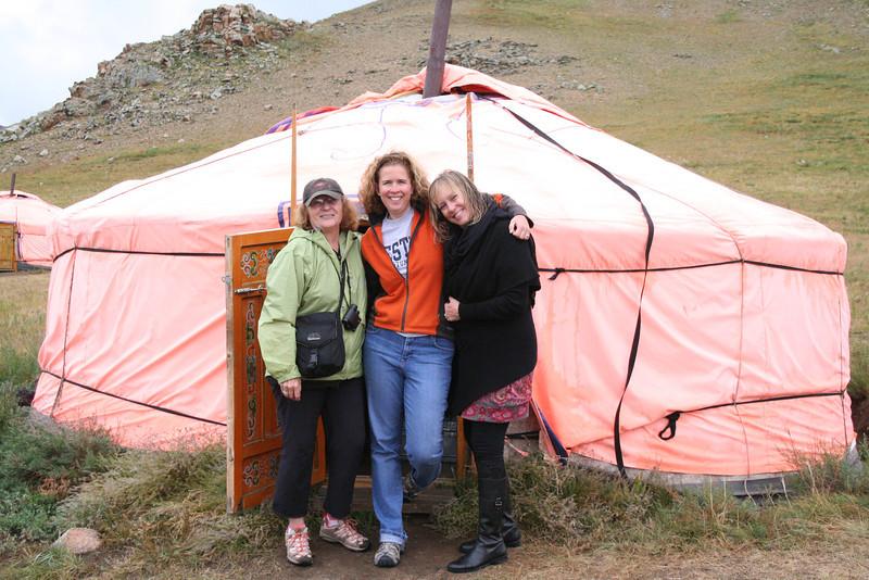 Ally, me and Susan--ger mates!