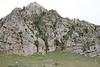 Some of the rocky hills that surround Tsetserleg.  (GREAT climbing!)