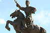 "Damdin Sukhbaatar, the ""hero of the revolution"" winning independence from the Chinese."