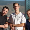Look at our WWU student ambassadors!  (I like Caleb and Michael's matching bracelets.)