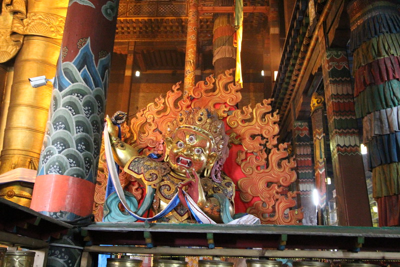 """Photos from the Gandan Monastery in downtown UB<br /> <a href=""""https://en.wikipedia.org/wiki/Gandantegchinlen_Monastery"""">https://en.wikipedia.org/wiki/Gandantegchinlen_Monastery</a>"""