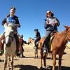 Look!  We're on horses!  Go Western!
