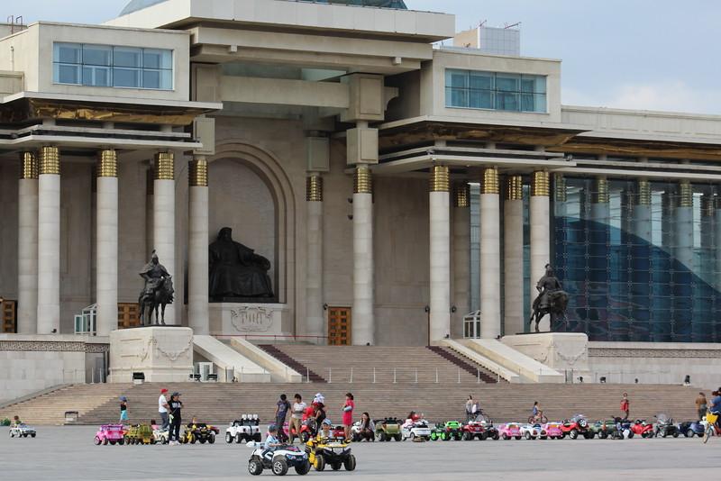 Uber for the under-12 crowd in Sukhbaatar Square