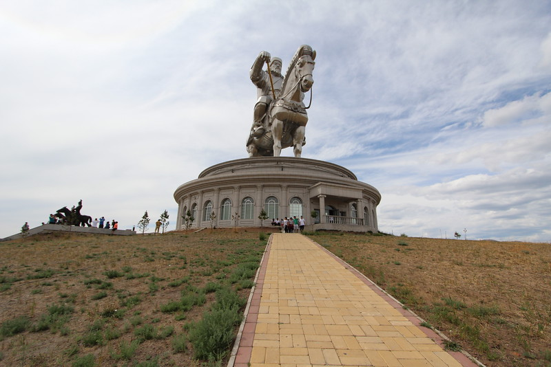 The Chinggis Khan Equestrian Statue.  This sucker's BIG (that's what she said).