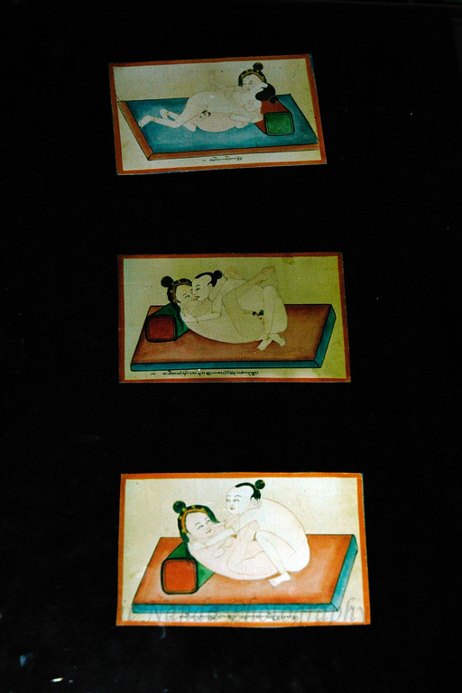 """Drawings similar to the Kama Sutra. The Danzanravjaa Museum was established in 1991 in honour of the fifth Goviin Dogshin Noyon Khutagt (""""Terrible Noble Saint of the Gobi""""), one of the greatest and most unusual intellectuals in Mongolian history. The museum preserves and displays Danzanravjaa's original artistic works and literary manuscripts, along with his books, religious items, theatrical costumes, personal possessions, and similar objects illustrating his life and work.<br /> <br /> The nineteenth century Lama Danzanravjaa was one of the most creative, colorful and enigmatic characters in Mongolian history. He was an accomplished artist, poet, scholar, playwright, songwriter, linguist, collector, traveler, martial artist, and herbal medic as well as Buddhist leader in the Gobi. He spent months at a time in prayer and creative solitude in caves or in his special ger, which, to avoid interruption, he had built without a door. At other times he was a hot-tempered, drunken party animal, organizing and participating in wild orgies at his temple. In his lifetime he was considered a living god and at his death a martyr. Today Mongolians are just discovering his full dimensions as after his death in 1856, Danzanravjaa's legend and surviving works went underground for 135 years."""