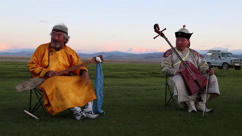 Mongolian Concert Part 2 - Horse-head Fiddle