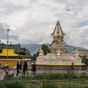 Stupa at the Gandan Monastery