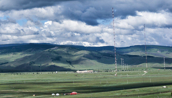 On the road from Ulaanbaatar to Nalaikh.