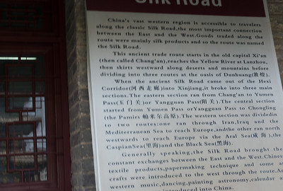 Xi'an and the Silk Road