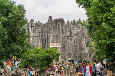 The Stone Forest is a particular tourist attraction for both international and Chinese tourists,