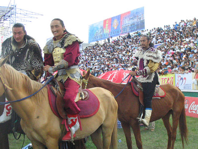 Cool Mongol warriors.