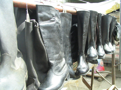 The fabulous, fantasy, Mongolian riding boots.