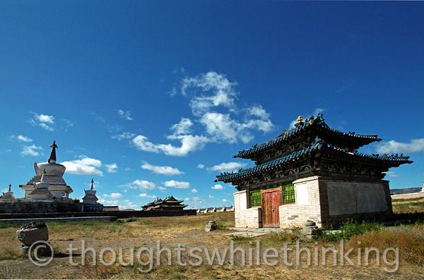 Mongolia 2008 Erdene Zuu Monastery. Central Mongolia August 26