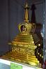 Mongolia 2008 Buddhist stupa in the Zanabazar Museum of Fine Arts August 21