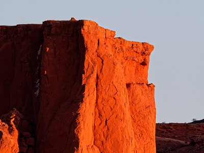 Red Rock and Flaming Cliffs