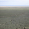 The plain of the Gobi from the Gurvan Saikhan mountains. While it's a desert, it's actually covered in low scrub that's suitable for animal grazing.