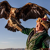 Mr. Bashakhan and his eagle