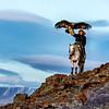 Eagle Hunters Mr. Ardak in the Altai Mountains