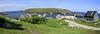 Monhegan Harbor panorama