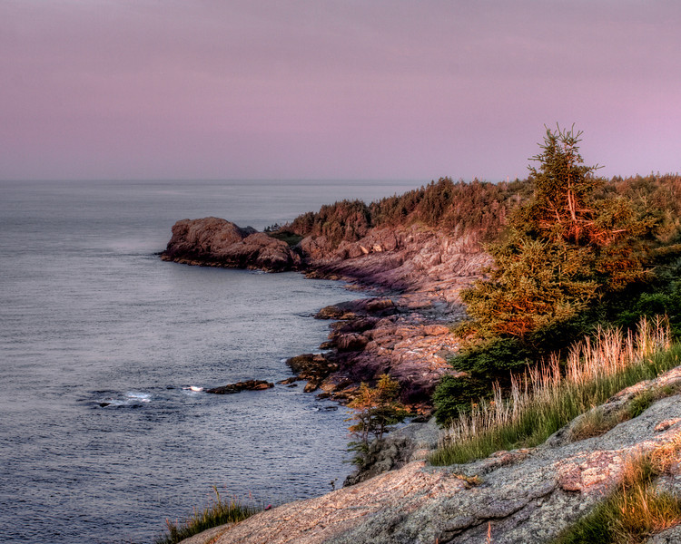 Image taken from the White Head Trail on the southeast side of Monhegan Island.