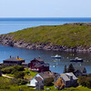 Manana Island just west of Monhegan.