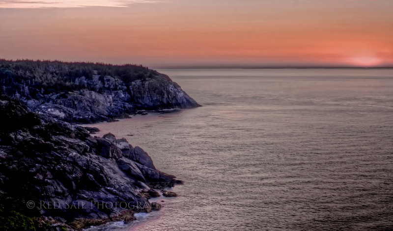 Monhegan Island Sunrise.